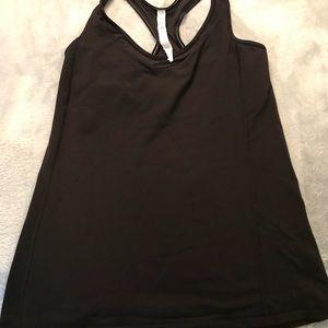 Lululemon black workout top